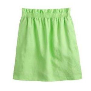 J. Crew mini skirt.